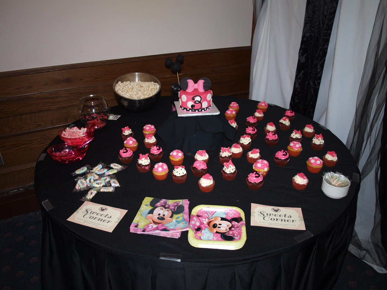 Flashback:  Minnie Inspired Birthday